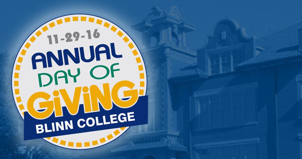 Blinn College Annual Day of Giving