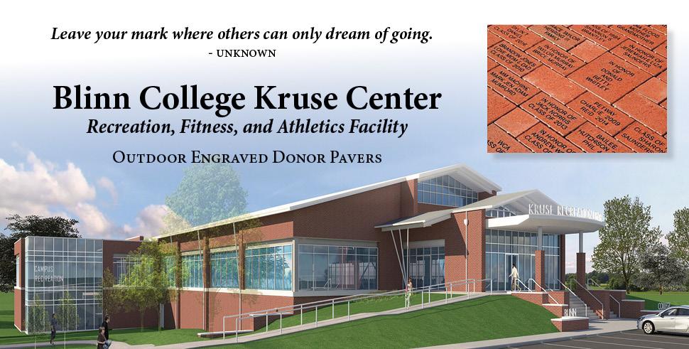 Blinn College Kruse Center Donor Pavers
